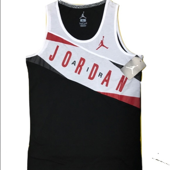 1f591581ab97e1 Air Jordan Basketball Tank Shirt. NWT. Jumpman