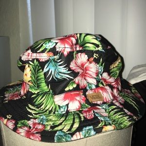Vans Accessories - Vans brohola Hawaiian floral bucket hat ab85ae99b9f