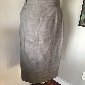 1 ESCADA Wool Pencil Skirt
