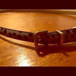 Mint condition genuine Leather GAP belt