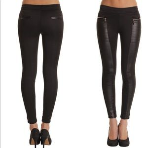 Pants - Just in❗️Everyone loves faux leather accent pants
