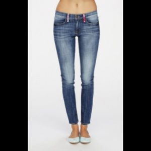 Wildfox Marianne Spellbound mid rise skinny jeans