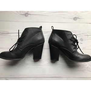 NWOT Forever 21 Leather Booties