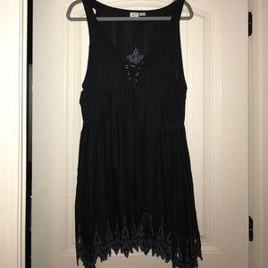 Somedays Lovin Black Tank Dress