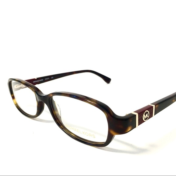 40fce48b59 New Michael Kors Eyeglasses Tortoise Frame