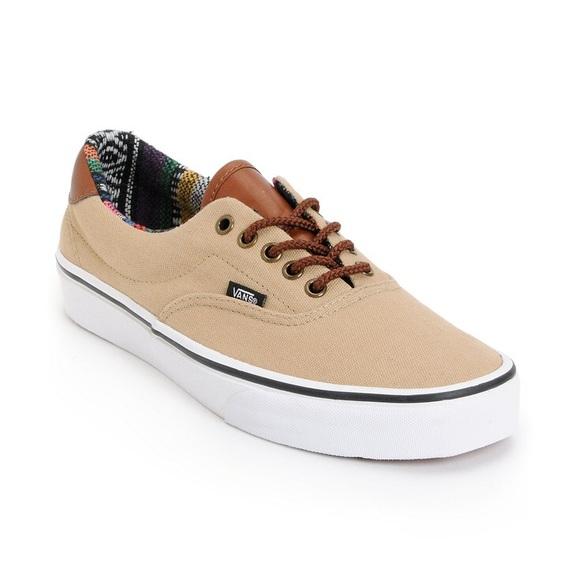 1036ce60d7376b Vans Era 59 Khaki Guate Canvas Slate Shoes Size 11.  M 59ffbffd13302a7ecb10385b