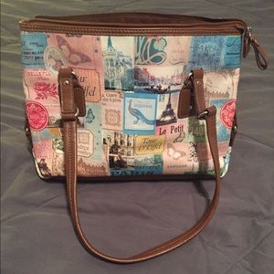 Relic Paris themed purse