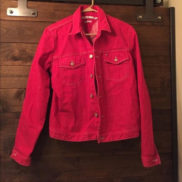 e01d24bd Women's Tommy Hilfiger pink denim jacket, large. M_59ffbdf76d64bc3b13102a11