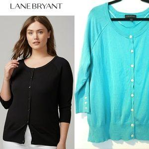 Lane Bryant 18/20 Classic Cardigan Sweater