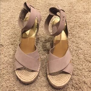 Dolce Vita grey wedges size 9
