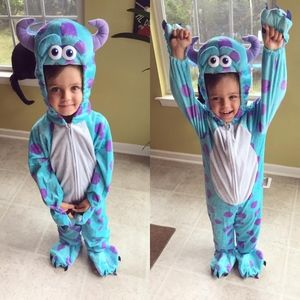 Boys 5-6T Sully Costume