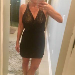 **Halter cocktail dress