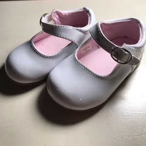 Other - White patent baby dress shoes