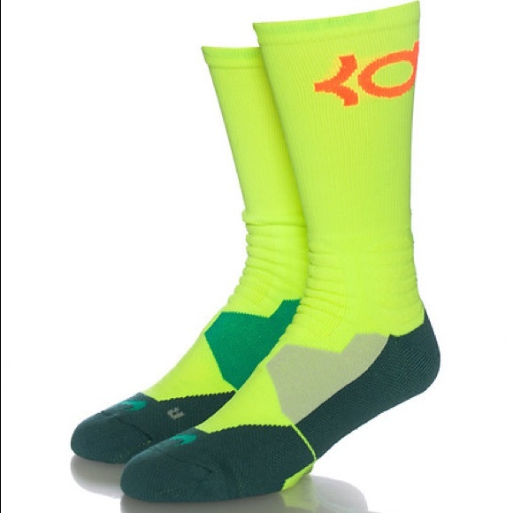 13934c73db58 Nike KD Elite Basketball Socks Sz LG 8-12