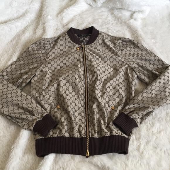 b48d22bd16ef Gucci Jackets   Blazers - 🔥Gucci logo printed bomber jacket