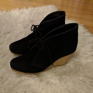 Kelsi Dagger wedge booties