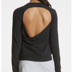 Fabletics open back sweatshirt