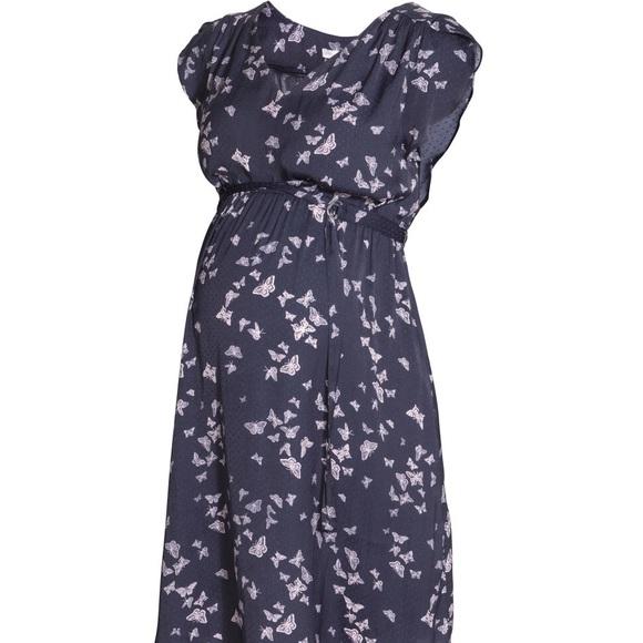 dd34292714 H M Dresses   Skirts - H M butterfly maternity dress