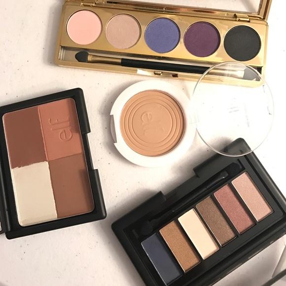 Makeup Drugstore Eyeshadow Powder Bundle Elf Palette Poshmark