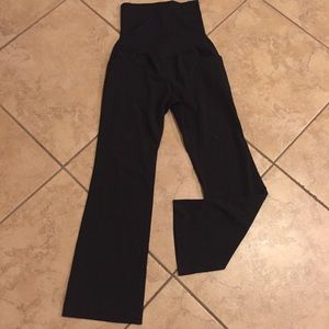 Maternity black slacks size 2