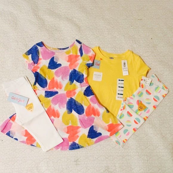 6bba165b7 Cat & Jack, Old Navy Matching Sets | Nwt Toddler Girl Clothing ...