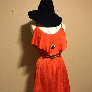 Bisou Bisou Pretty Red Dress