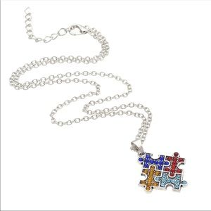 Jewelry - ‼️LAST1‼️ Autism Awareness Necklace