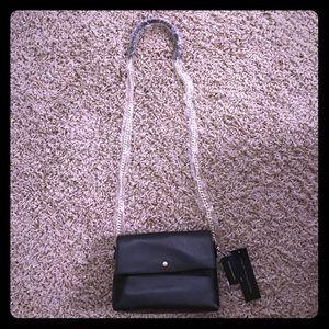 Banana Republic leather cross body bag - brand new