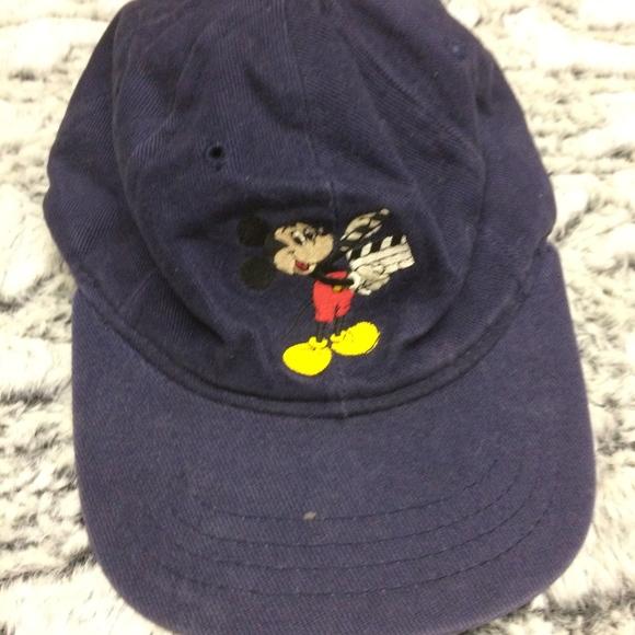 8b4cbf9494380 Disney Accessories - The Walt Disney Studios Vintage Mickey Mouse Hat
