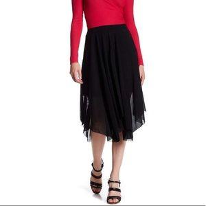 NWT Topshop asymmetrical midi skirt