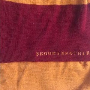 Accessories - Red and gold USC colors brooks brothers scarf