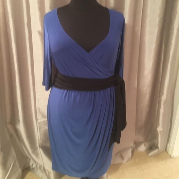 31203d8f3593 Kiyonna Dresses | Harlow Faux Wrap Dress Nwts Plus Size | Poshmark
