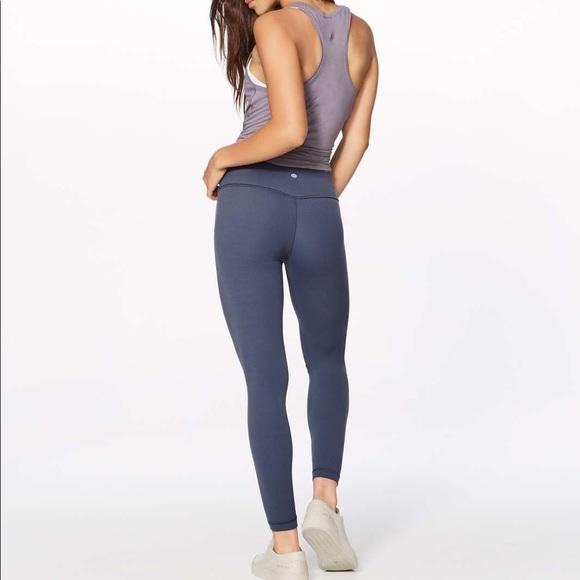 a583a60651 lululemon athletica Pants | Lululemon Align Pant Ii 25 Shadow Blue ...