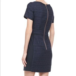 Blue Patterned Tweed Marc by Marc Jacobs Dress