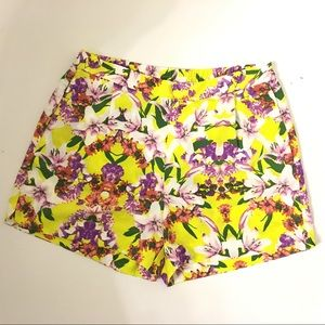 Joe Fresh | High Waist Floral Shorts [Brand New]