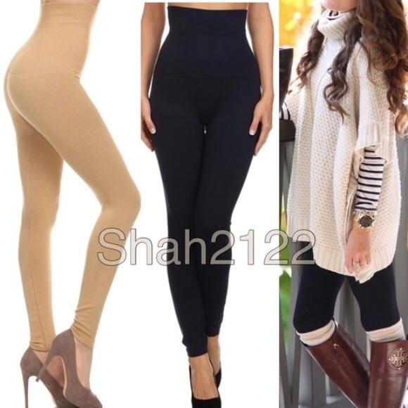 5baff8108e Pants | Compression High Waist Tummy Tuck Control Leggings | Poshmark