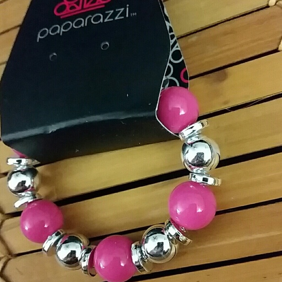 Paparazzi Accessories Kids Hot Pink Stretch Bracelet Poshmark