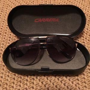 Carrera purple aviator sunglasses