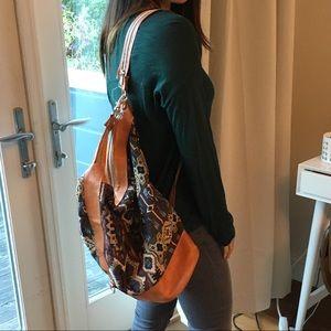Vintage boho backpack