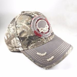 Daniel Cremieux Accessories - NWT Daniel Cremieux Camouflage Skull Patch Hat edf0508a9d4f
