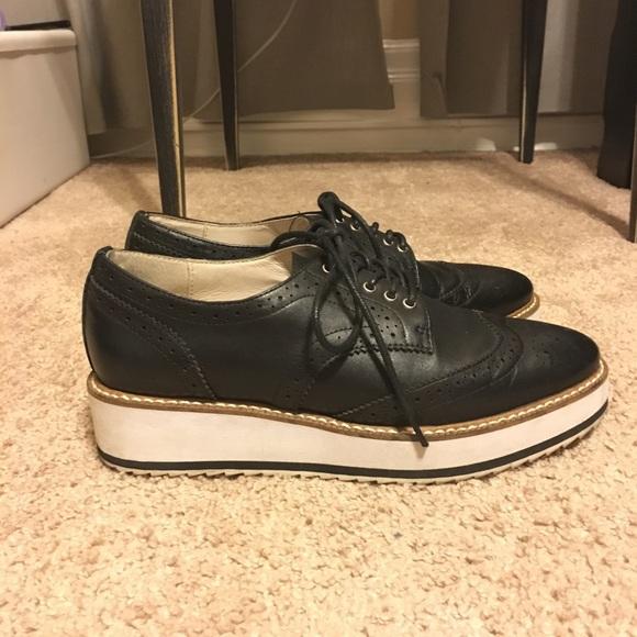 3f0a4c9243 Shellys London Shoes | Emma Platform Oxford Bluchers | Poshmark