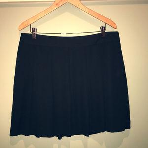 Banana Republic Silky Black Circle Skirt