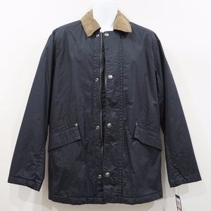 NWT Nautica Blue and Tan Field Jacket