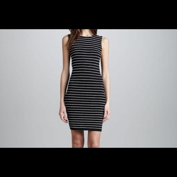 3c296035d457 Alice + Olivia Dresses | Alice Olivia Striped Rayon Blend Bodycon ...
