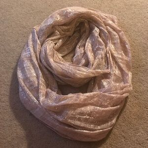 Pink & Silver Sparkle Infinity Scarf!