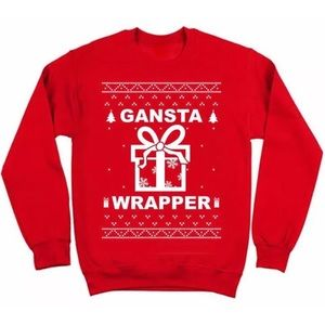 Other - Gangsta Wrapper ugly Christmas Sweater