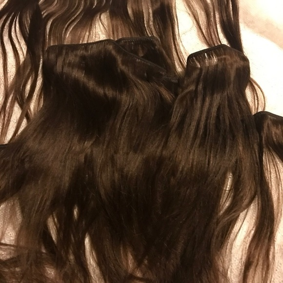 The Sassy Collection Accessories Silky Straight Brown 12inch Human