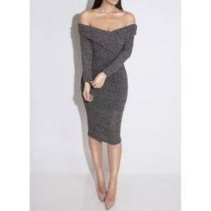 New! J Lux intermix sweater dress