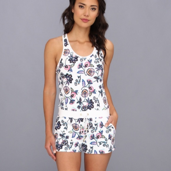 799355d87b0 Juicy Couture Other - Juicy Couture floral cover up Terry cloth Romper
