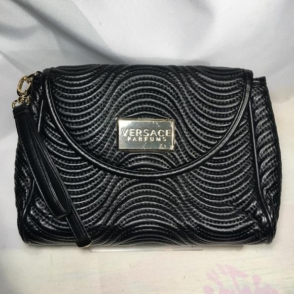 Versace Bags   New Parfums Wristlet Handbag   Poshmark f3bae3daf7